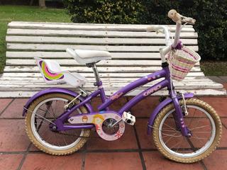 Bicicleta Olmo Tiny Pets Niña Rodado 12 Lh Confort