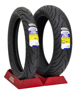 Llantas Michelin 140/70-17 Y 110/80-17 Pilot Street Tubeless