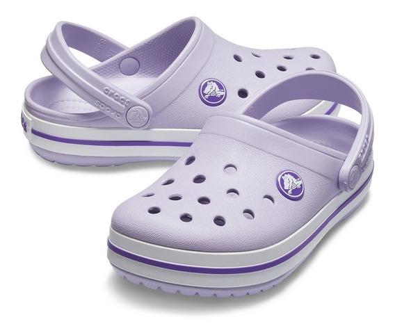 Crocs Crocband Kids Niños Lavender En La Plata