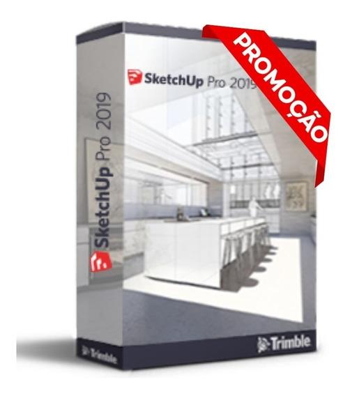 Licença Serial Do Sketchup Pro 2019 (vitalicio) + Brinde