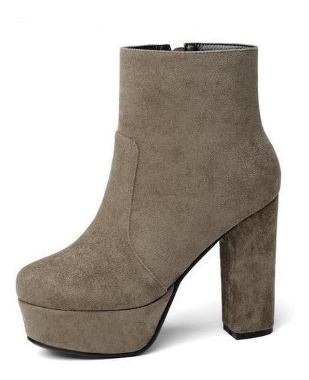 Ankle Boot Feminina Nemaone 52076 Importado Frete Grátis