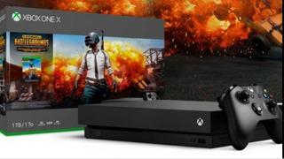 Xbox One X Edition Scorpio 2 Joysticks. 190 Juegos