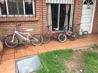 Bicicletas Infantiles El Precio Es Por Las Cuatro Juntas