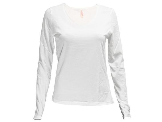 Camiseta Dama Urban Sw Manga Larga Cuello V - Disershop