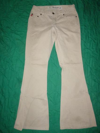 Pantalón- Damas-crema- Talla 28- Mudd
