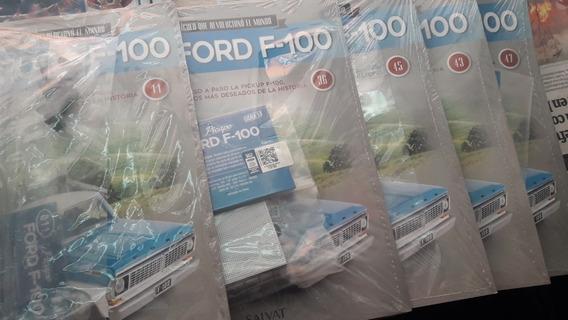 Coleccion Arma La Pick Up Ford F 100 Nros 11,22,36,43,45,47