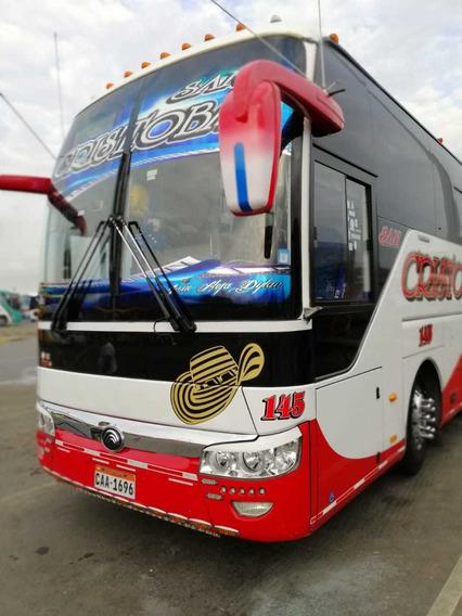 Se Vende Hermoso Bus Yutong Año 2018 Perfecto Estado