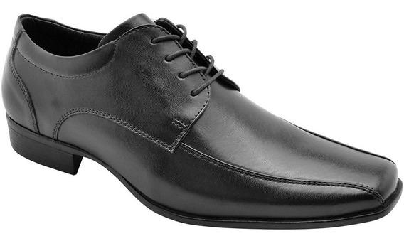 Sapato Couro Sintético Masculino +calça
