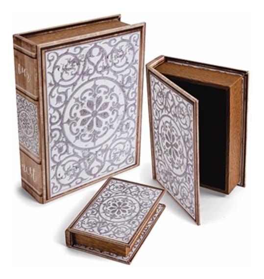 Kit 3 Livros Caixa Azulejo