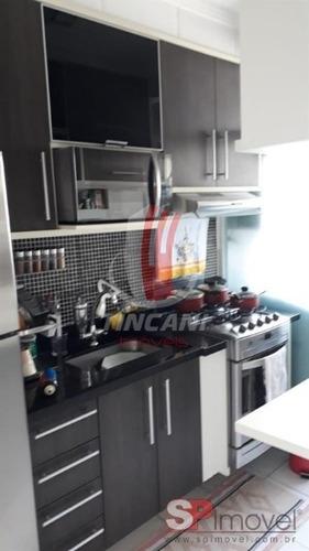 Imagem 1 de 13 de Apartamento Em Condomínio Padrão Para Venda No Bairro Vila Mendes - 2 Dorms E 1 Vaga - 6154