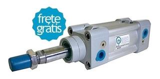 Cilindro Pneumático Diâmetro 32 X Curso 65mm - Frete Grátis