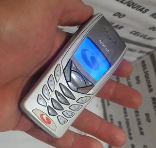 Nokia 8265 Tdma ¨ Visor Azul ¨ Reliquia Antigo Não É De Chip