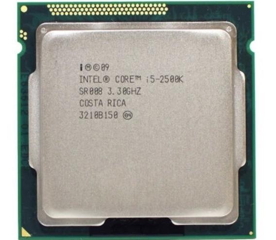 Processador Intel I5 2500k 3.30ghz Lga 1155 + Brinde