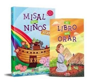 Misal Anual Para Niños 2020 Ciclo A + Mi Libro Para Orar