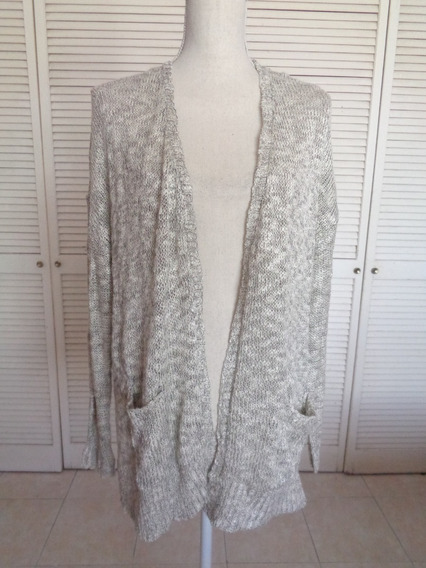 Sweter Cardigan Talla M, Nuevo Sin Etiquete,bolsillos,amplio