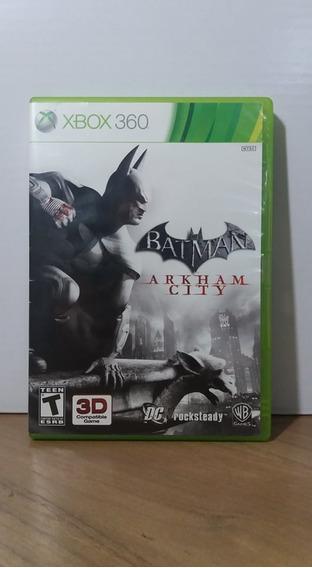 Batman Arkham City Xbox 360 Seminovo