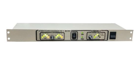 Processador Fm Agc Gerador Estereo Com Rds Interno Psc-3