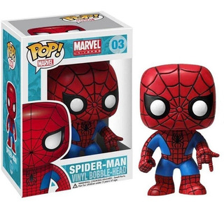 Funko Pop Marvel- Spiderman #03 Bobblehead Spider-man