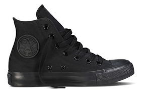Tênis Converse All Star Ct As Preto Monochome Hi Ct04470002