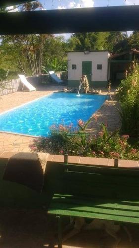 Imagem 1 de 12 de Chácara Com 2 Dormitórios À Venda, 5680 M² Por R$ 800.000 - Bom Jardim I - Guaratinguetá/sp - Ch0570