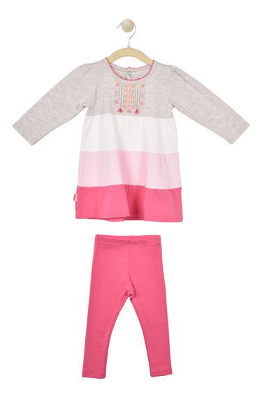 Conjunto 2 Piezas Baby Creysi Rosa Uh1368