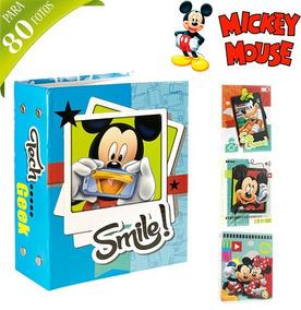 Album De Fotos Infantil Mickey Para 80 Fotos 10x15*-*