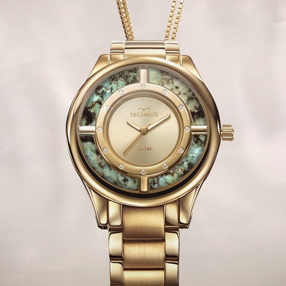 Relógio Technos Feminino Gl30fk/k4x - Dourado