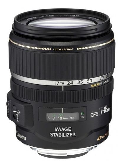 Canon Lente Autofoco Efs 17-85mm F/4-5.6 Is Usm Usada