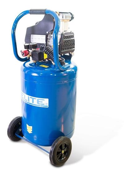 Compresor De Aire Elite Libre De Aceite, Potencia 2hp. 82 L.