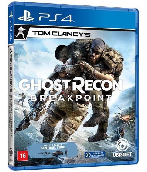 Tom Clancys Ghost Recon Breakpoint Ps4 Original Mídia Física