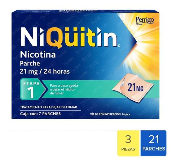 Niquitin Parches Nicotina Para Dejar De Fumar Etapa 1 - 3pk