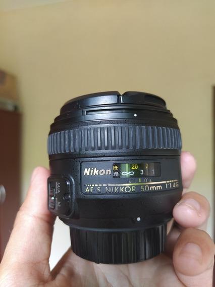 Lente Nikon Af-s 50 Mm F/1.4g