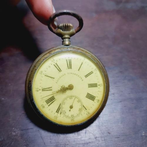 Relógio Bolso Railroud Timekeeper Para Retirada De Peças