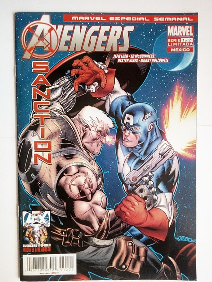 Comic Avengers Santion #1