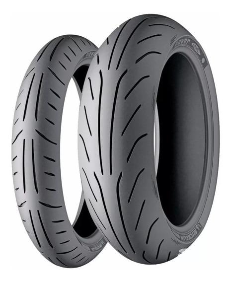 Par Pneu 130/60-13+150/70-13 Michelin Power Pure