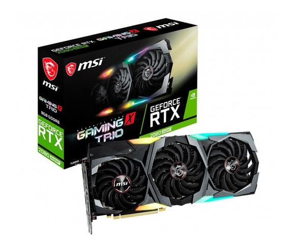 Placa Video Geforce Rtx 2080 8gb Msi Super X Trio 3