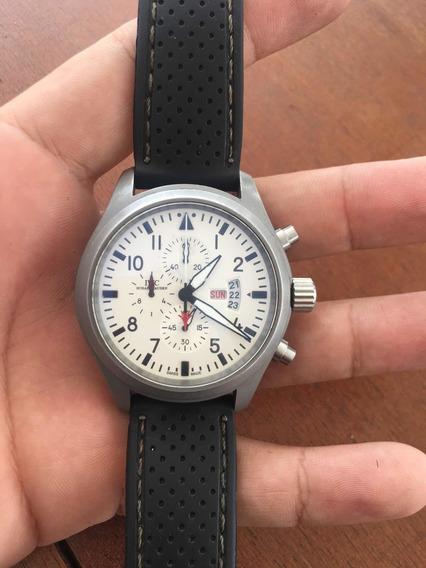 Relógio Top Gun Miramar Pilot Chronograph Cerâmica Iwc