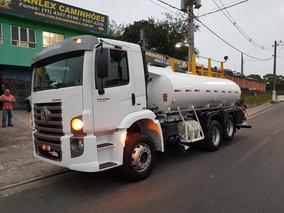 Vw 24280 6x2 Tanque De Agua Pipa Gascom Ñ 2426 2430 Atego Vm