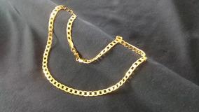 Corrente Cordão Masculino 55cm 5mm Banhado A Ouro 18k