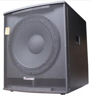 Bafle Subwoofer 18 Amplificado Soundtrack Pro 670w Rms