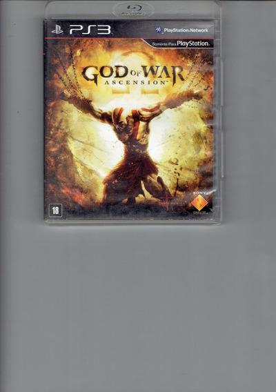 God Of War Ascension Jogo Game Ps3 Play 3 Playstation 3