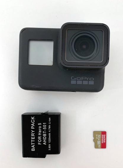 Gopro Hero 5 Black Com Kit De Acessórios