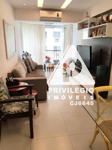 Apartamento À Venda, 2 Quartos, 1 Vaga, Botafogo - Rio De Janeiro/rj - 28250