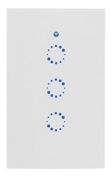 Sonoff T1 Us Llave De Punto Triple Tactil Inteligente Wifi