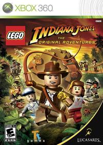 Lego Indiana Jones Original Adventures Midia Fisica Xbox 360