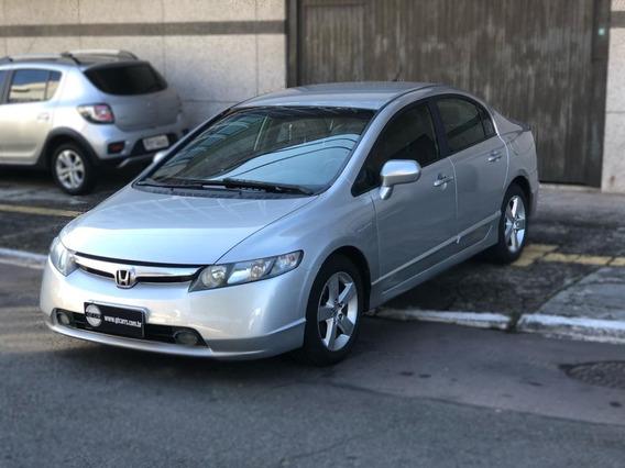 Honda - Civic Lxs 1.8 Automatico Financiamos Pelo Cnpj