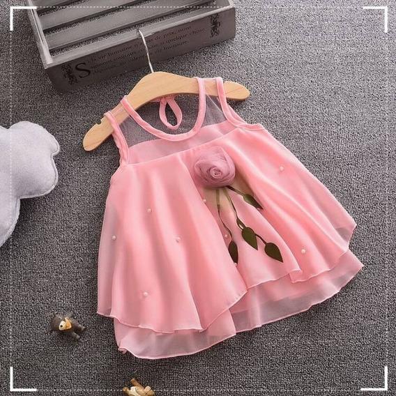 Vestido De Bebê Menina