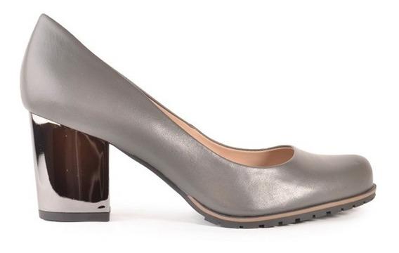 Zapatos De Mujer De Cuero Vacuno Pumita - Ferraro -