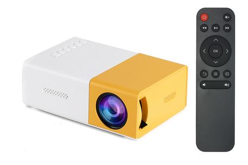 Imagen 1 de 9 de Mini Proyector Led Soporta Vídeo Portátil 720p/1080p