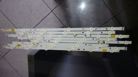 Kit Completo Barras De Leds Para Tv Samsung Mod: Un46fh5205g